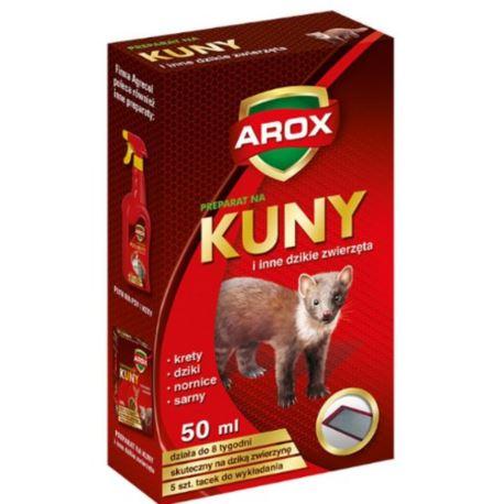 Arox- Płyn odstrasz. kuny 50ml + tacki