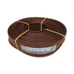 Obrzeże trawnikowe proste 18mx12,5cm brąz