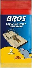 Bros- Łapka na myszy drewniana 2szt