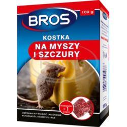 Bros- Kostka na myszy i szczury 100g