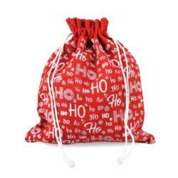 Worek jutowy świąteczny HO HO HO 45x40