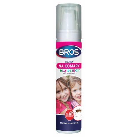 Bros- Pianka na komary dla dzieci 90ml